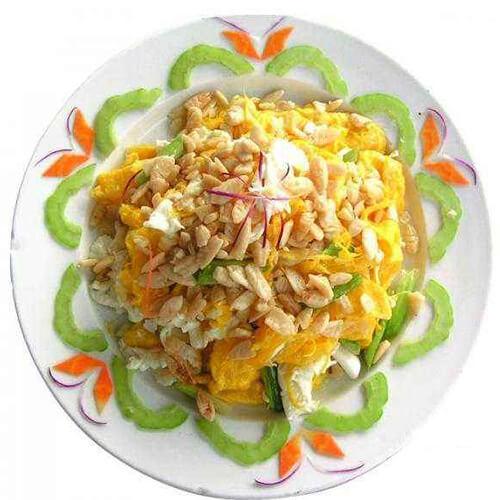 南瓜鸡蛋炒饭