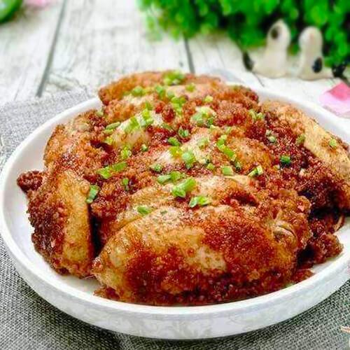 粉蒸红薯鸡翅