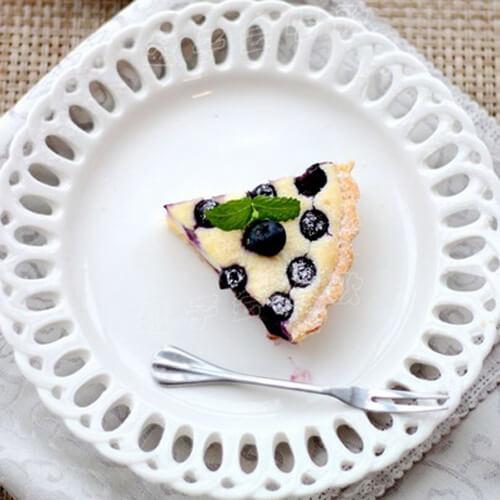 爆浆蓝莓奶酪派