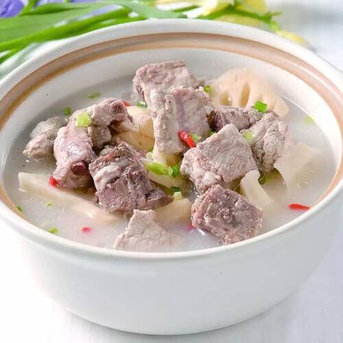 莲藕黑豆排骨汤
