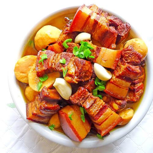 红烧豆腐丁