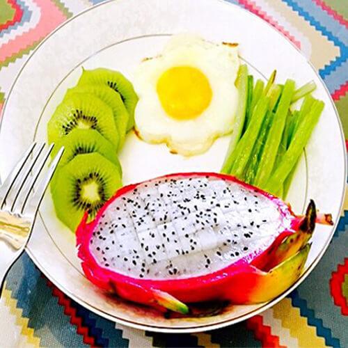 爱心拼盘早餐2