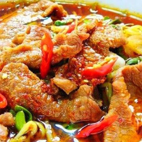 素菜系列油豆腐烧茄子