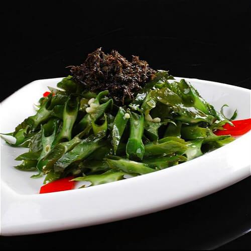 梅干菜炒刀豆