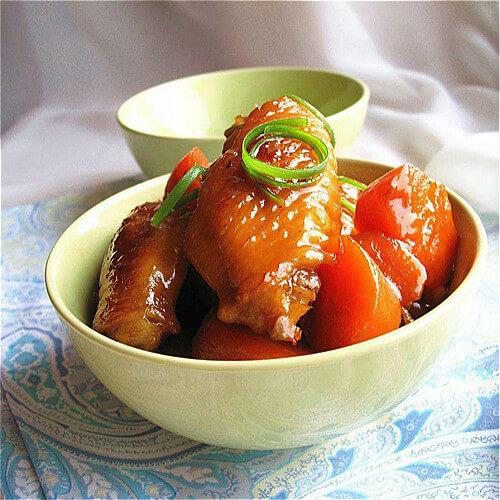 中翅焖萝卜