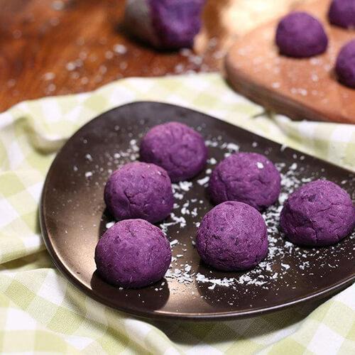 紫薯抹茶硬性饼干