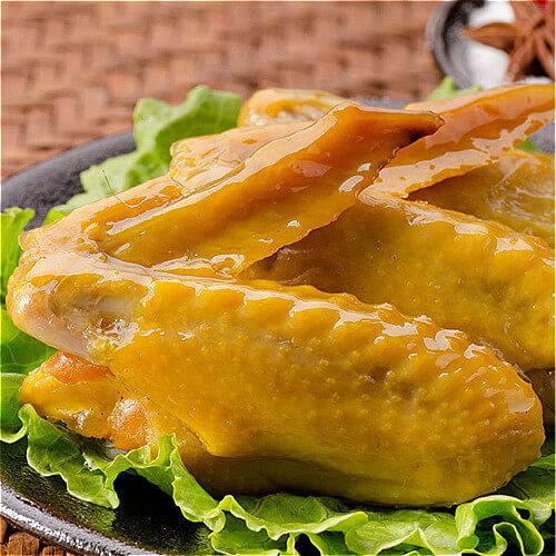 客家菜改良来的花雕盐焗鸡翅