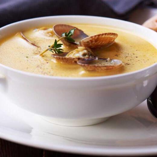 香浓的冬瓜蛤蜊肉汤