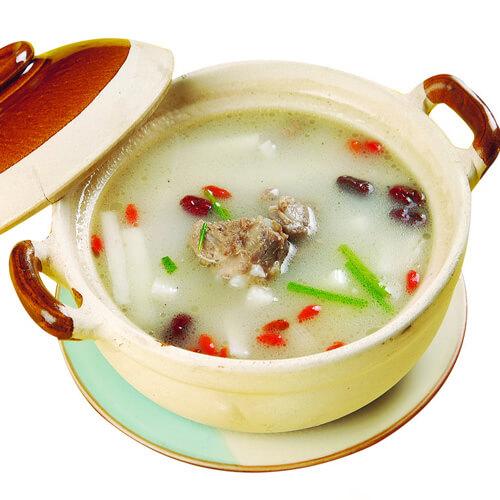 养生的山药排骨汤