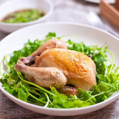砂锅荷香盐焗鸡