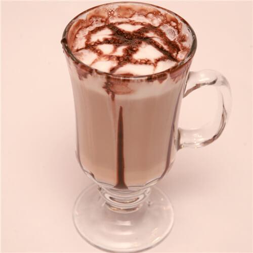 奇亚籽冰咖啡