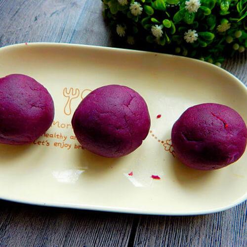 面包机版紫薯馅