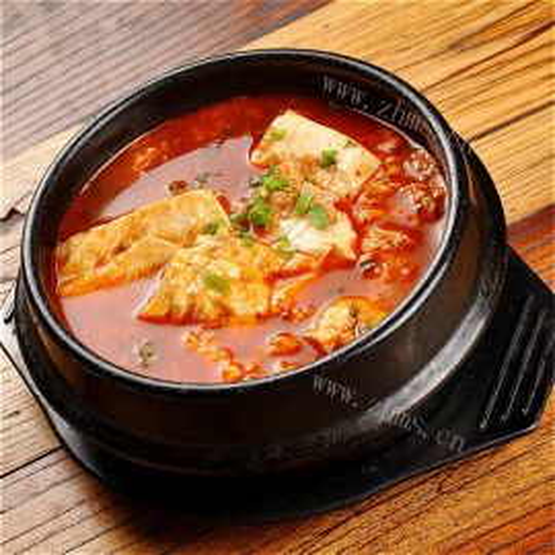 韩式辣豆腐
