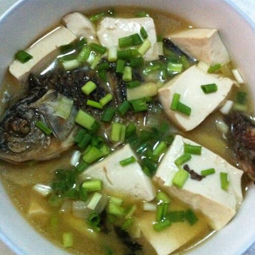 营养丰富的鳕鱼炖豆腐