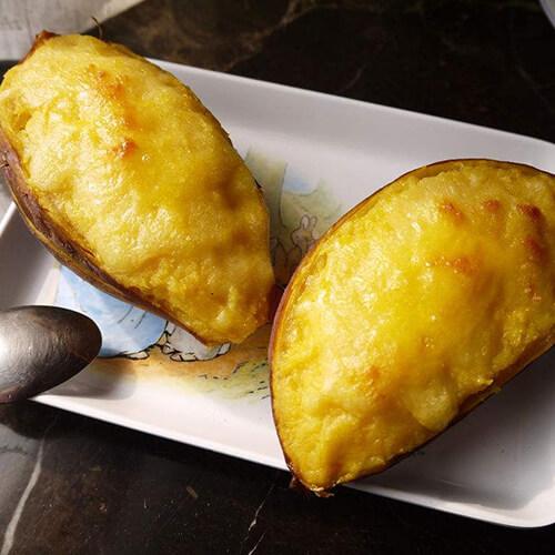 芝士焗南瓜番薯