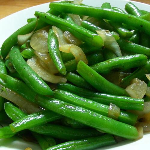 蒜米四季豆