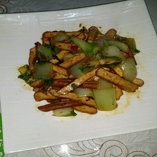 郫县豆瓣炒白菜