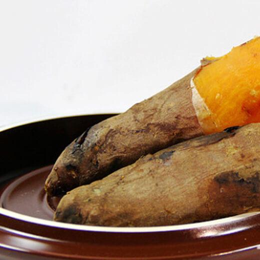 香甜砂锅烤红薯(地瓜)