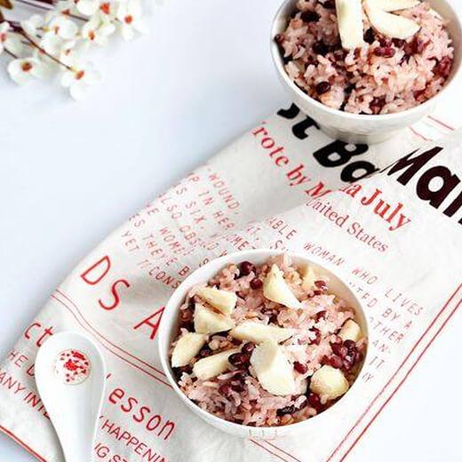 红豆薏米山药饭