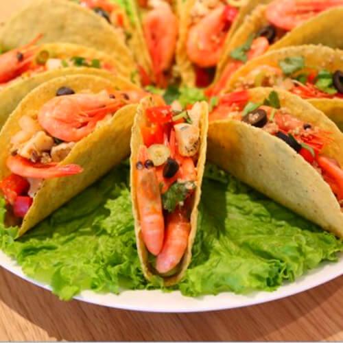 梅干菜烤北极虾
