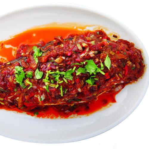 色香味浓的豆豉鱼
