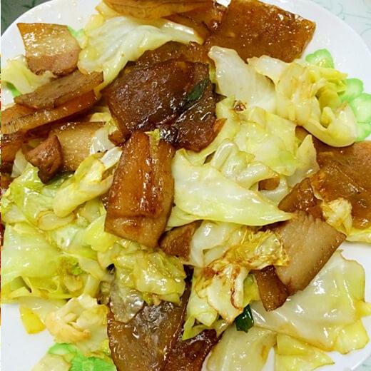 红烧卷心菜