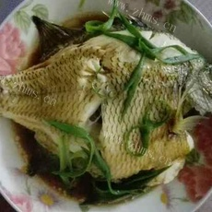 简单的清蒸太阳鱼