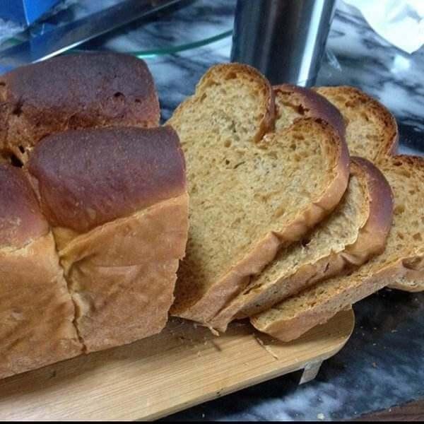 美味的红糖粗粮面包