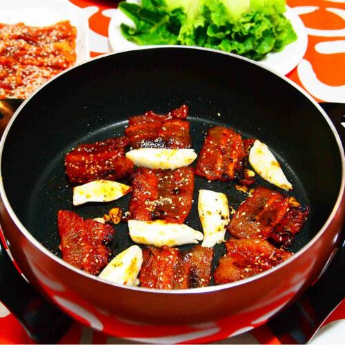 好吃的韩国烤肉