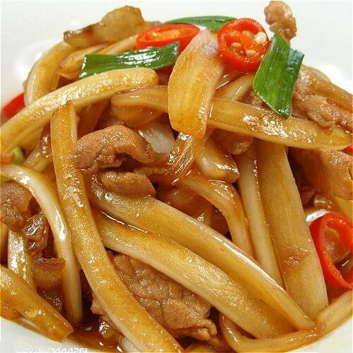 大白菜炒猪肝