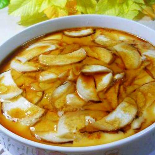 杏鲍菇鸡蛋蔬菜汤