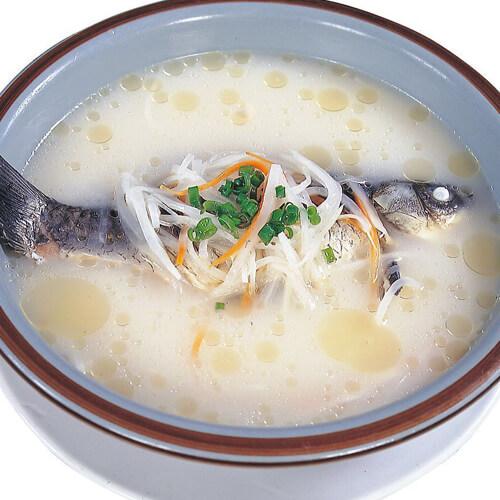 美味鲈鱼汤