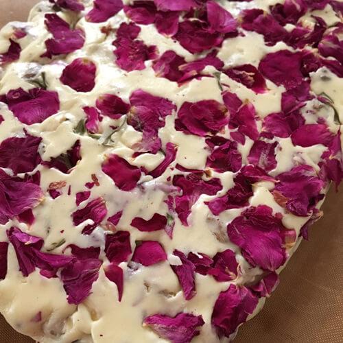 玫瑰花枸杞牛轧糖