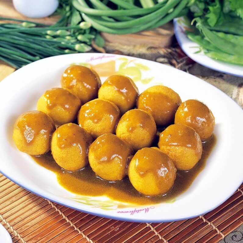 香酥咖喱冬瓜球