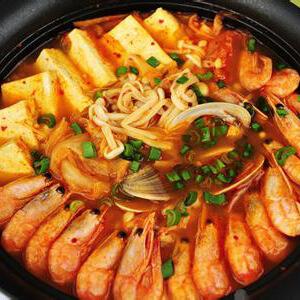 什锦海鲜锅