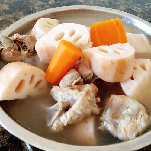 薏仁莲藕骨头汤