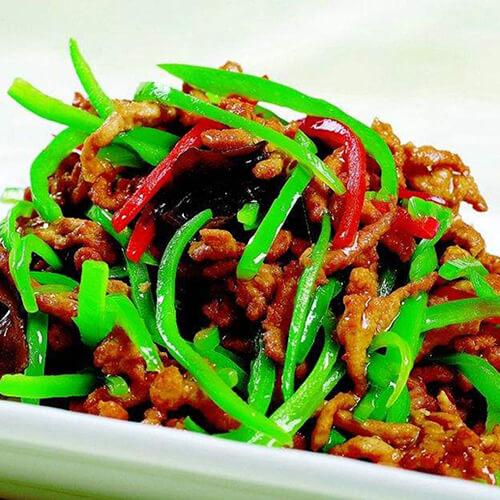 辣椒炒肉丝