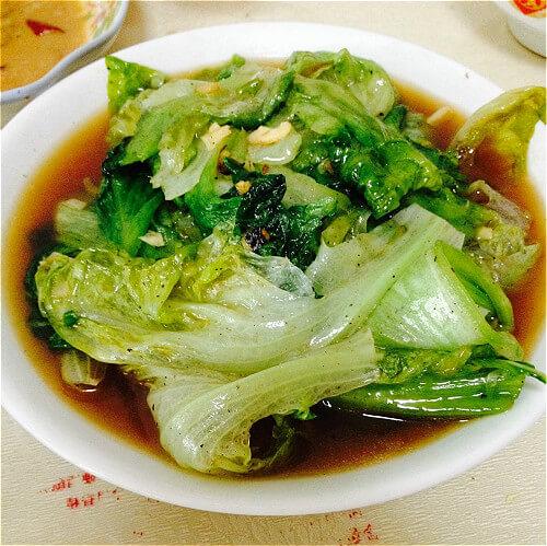 普宁豆瓣酱炒生菜