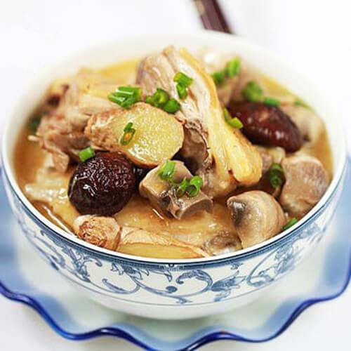 台湾麻油鸡