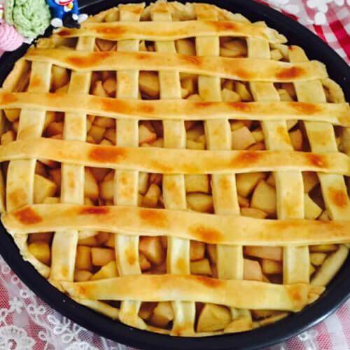 酥脆苹果馅饼