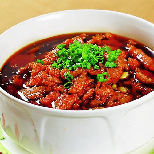 香辣的正宗四川家常菜水煮牛