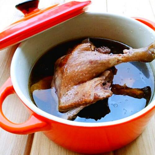 养生滋补的老鸭四物汤