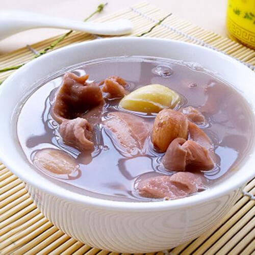 花生白果猪肚汤