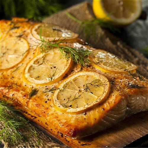 碳烤三文鱼