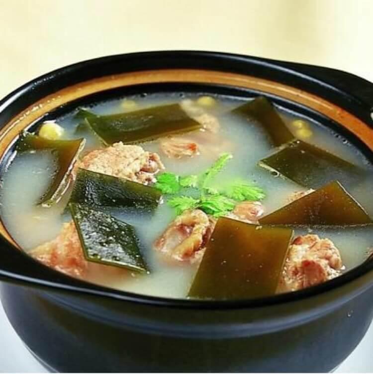营养海带豆腐排骨汤