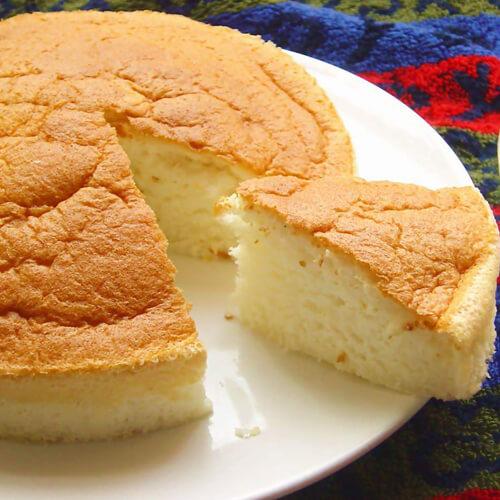 妈妈教我做北海道戚风蛋糕