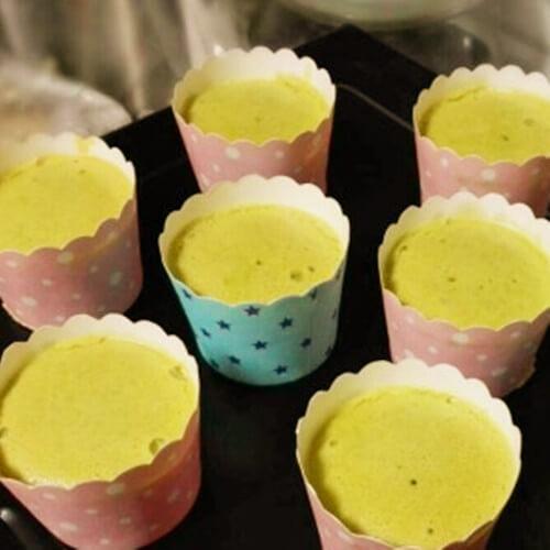 纸杯青汁蛋糕