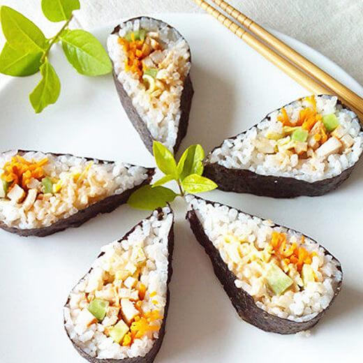 千岛鸡肉寿司