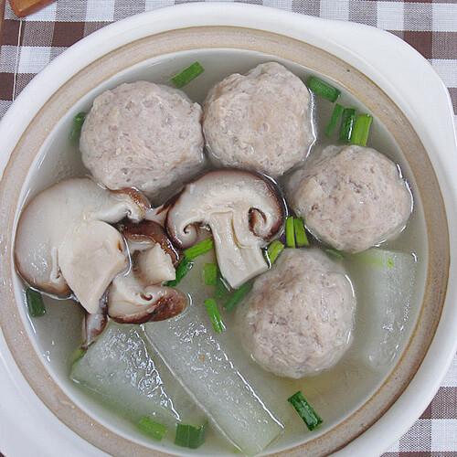 冬瓜香菇肉汤