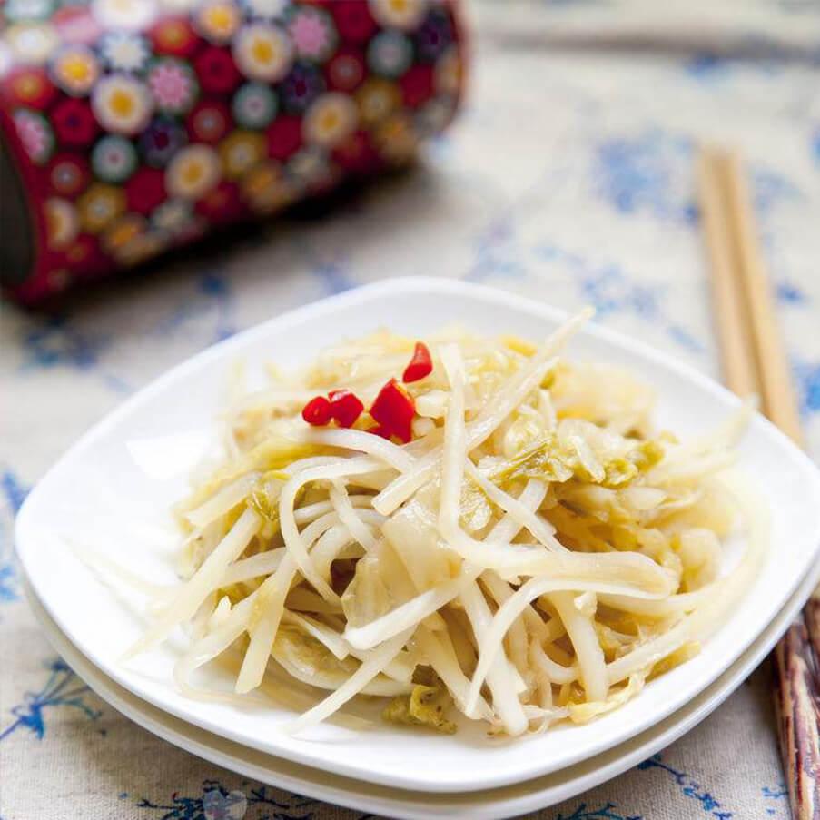 酸菜炒土豆